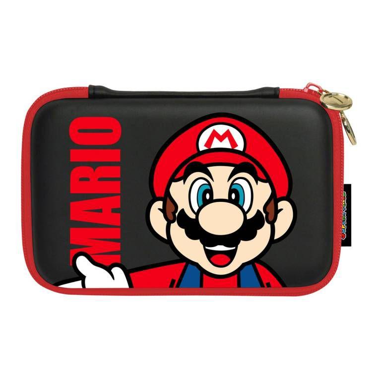 Housse protection rigide mario pour console 3ds xl dsi for Housse 3ds xl pokemon