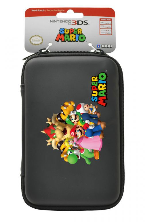 Housse protection sacoche rigide mario familly 3ds xl for Housse 3ds xl zelda