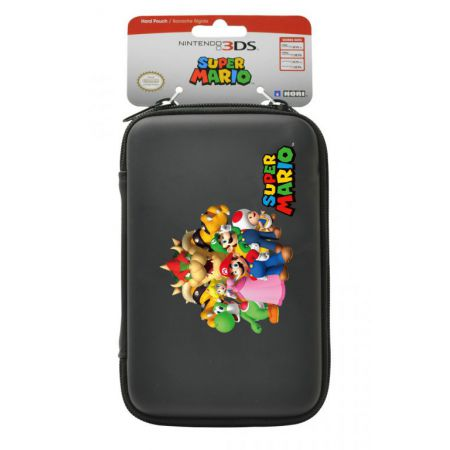 Housse protection sacoche rigide mario familly 3ds xl for Housse 3ds xl pokemon