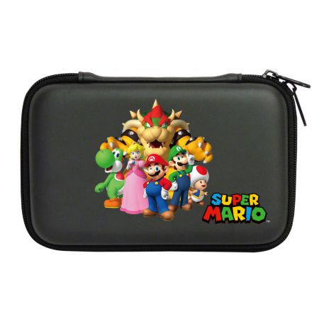 Housse Protection Sacoche Rigide Mario Familly 3Ds XL & DSi XL - Officielle Nintendo Hori - 3DS-448U