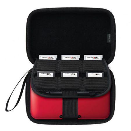 Housse Protection Sacoche Rigide Noire 3Ds XL & DSi XL - Officielle Nintendo Hori - 3DS-302U