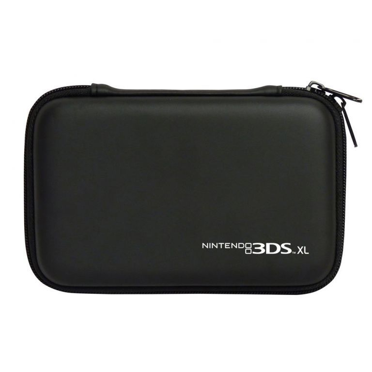 Housse protection sacoche rigide noire new 3ds xl dsi xl for Housse nintendo 3ds xl