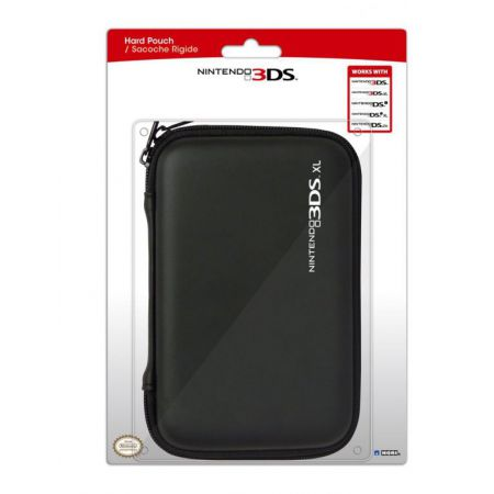 Housse Protection Sacoche Rigide Noire New 3Ds XL & DSi XL - Officielle Nintendo Hori - 3DS-422U