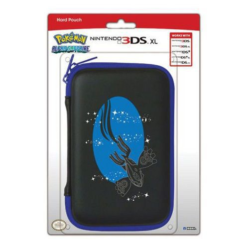 Housse protection sacoche rigide pokemon alpha sapphire for Housse 3ds xl pokemon
