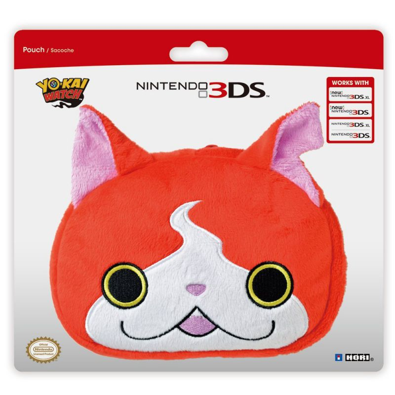 Housse protection sacoche yo kai watch jibanyan for Housse 3ds xl pokemon
