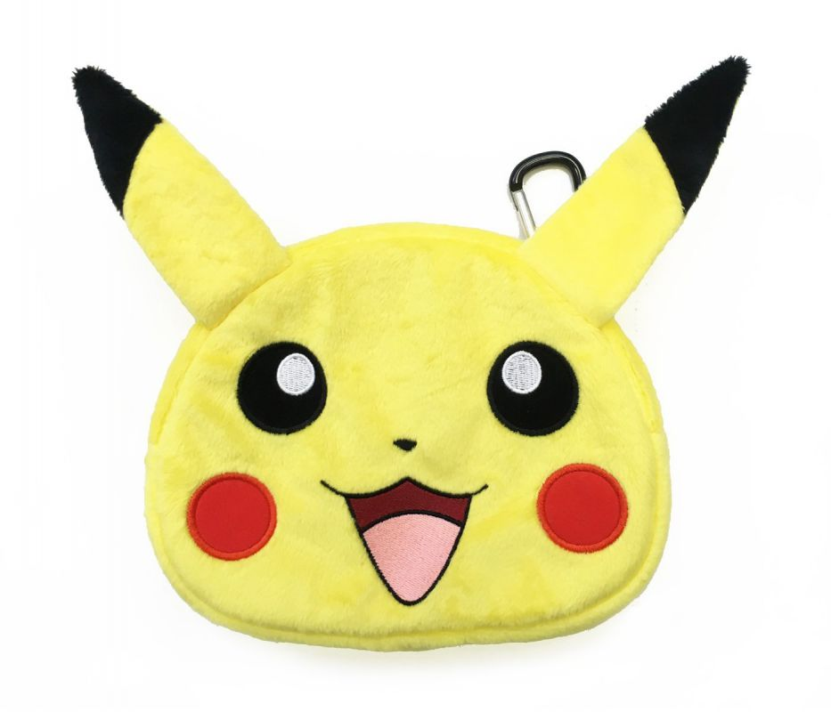 Housse sacoche peluche pokemon pikachu nintendo new 3ds xl for Housse nintendo 3ds xl