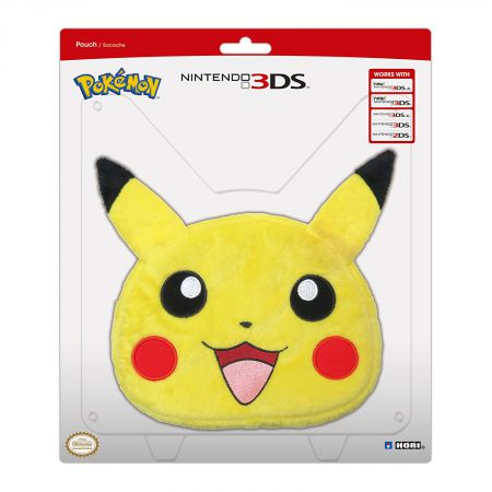 Housse Sacoche Peluche Pokemon Pikachu Nintendo New 3DS XL Hori 3DS-496U