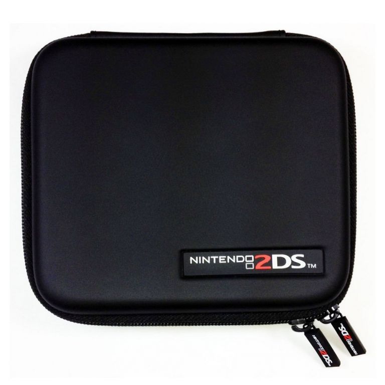 Housse sacoche rigide noire hori protection console for Housse 2ds pokemon