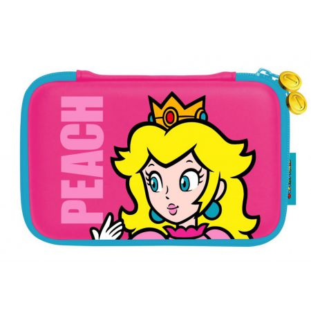 Housse Sacoche Rigide Protection 3Ds XL & DSi XL - Peach - Super Mario - Officielle Nintendo Hori - 3DS-356U