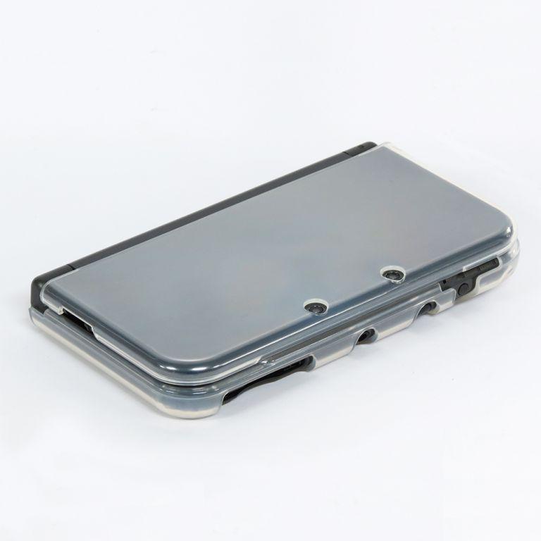 Housse tpu cystal coque souple de protection console for Housse nintendo 3ds xl