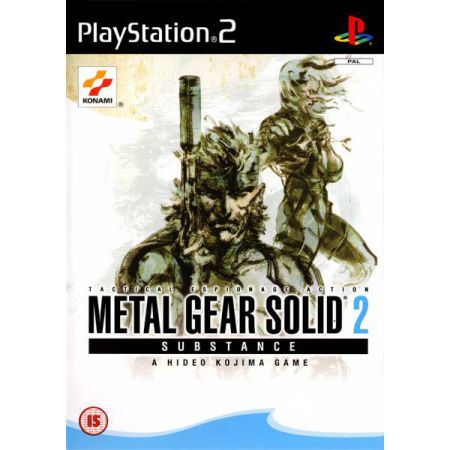JEU CONSOLE PS2 - METAL GEAR SOLID 2 : SUBSTANCE  EN FRANCAIS - VF
