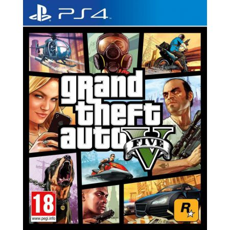 Jeu Console PS4 - GTA 5 : Grand Theft Auto V