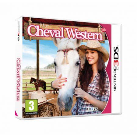 Jeu Nintendo 3Ds - Mon Cheval Western 3D - J3DS0281