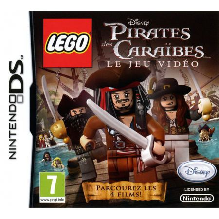 Jeu Nintendo Ds - Lego Pirates Des Caraibes : Le Jeu video (Disney)