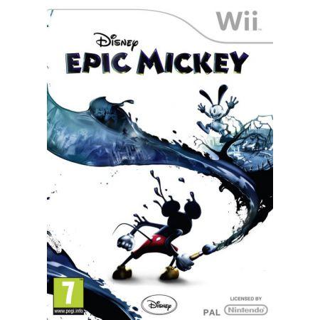 Jeu Nintendo Wii - Disney Epic Mickey