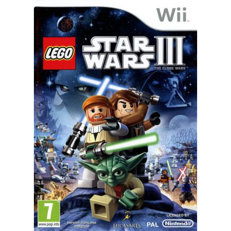 Jeu Nintendo Wii - Lego Star Wars : The Clone Wars (Disney)