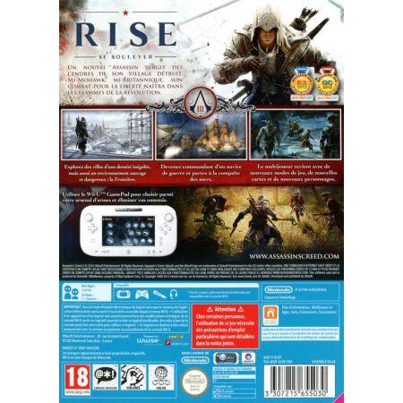 Jeu Nintendo Wii U - Assassin's Creed 3 III - JWIIU5030