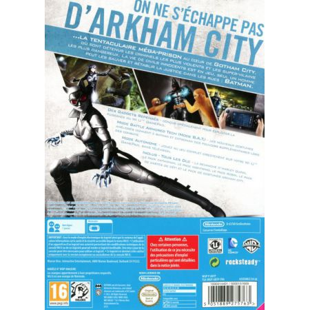 Jeu Nintendo Wii U - Batman Arkham City Armored Edition