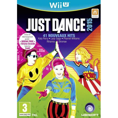 Jeu Nintendo Wii u - Just Dance 2015