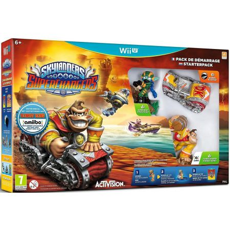 Jeu Nintendo Wii U - Skylanders Superchargers - Pack de Demarrage