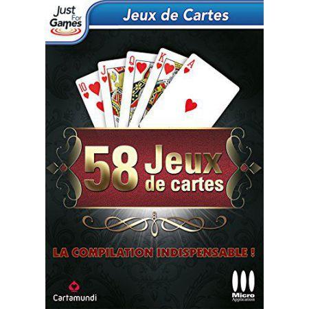 Jeu Pc - 58 Jeux De Cartes - JPC7360