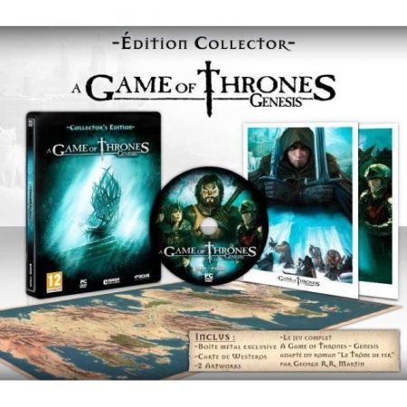 Jeu Pc - A Game Of Thrones Genesis Edition Collector