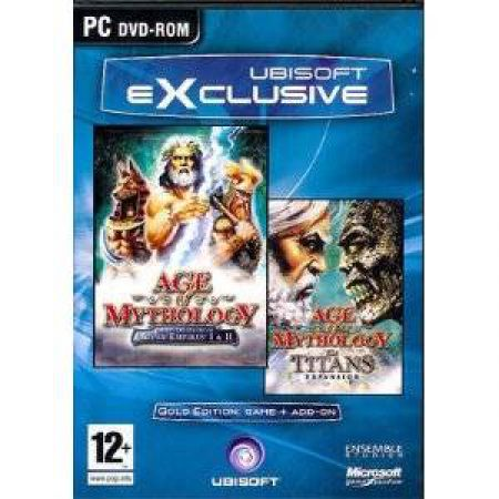 JEU PC AGE OF MYTHOLOGY GOLD + ADD ON TITANS