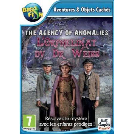 Jeu Pc - Agency Of Anomalies : L Orphelinat Du Dr Weiss