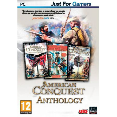 Jeu Pc - American Conquest Anthology