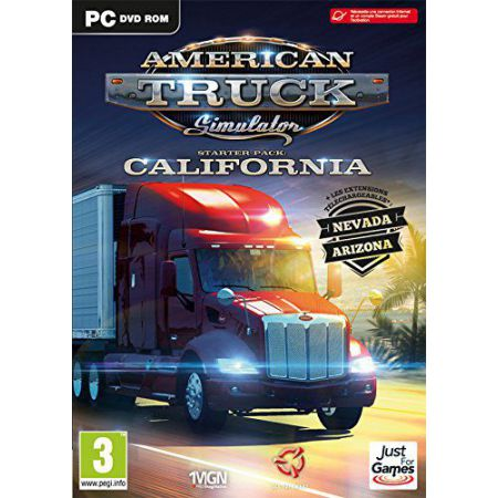 Jeu Pc - American Truck Simulator - Starter pack : California
