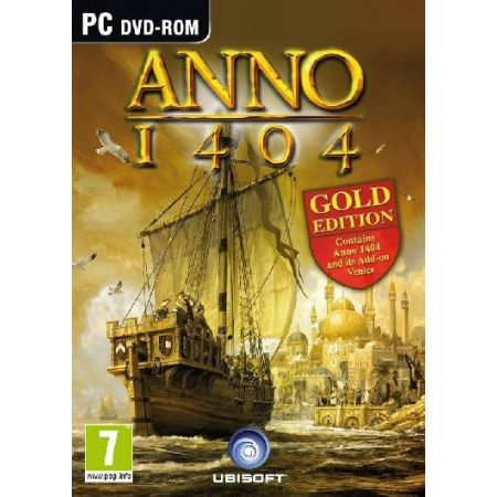 JEU PC - ANNO 1404 GOLD EDITION + ADD-ON VENISE VENICE  EN FRANCAIS - VF