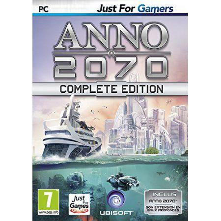 Jeu Pc - Anno 2070 Complete Edition + Extension Eaux Profondes