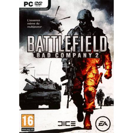 Jeu Pc - Battlefield Bad Company 2