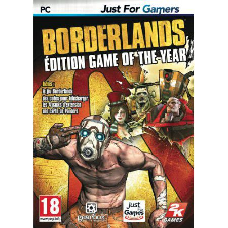 Jeu Pc - Borderlands : Edition Game Of The Year (GOTY)