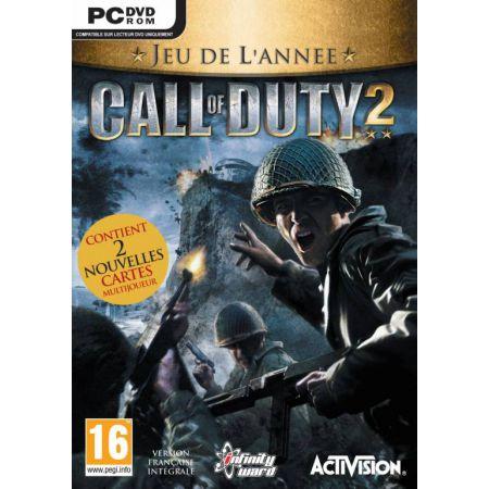 Jeu Pc - Cal Of Duty 2 Edition Jeu de L'année