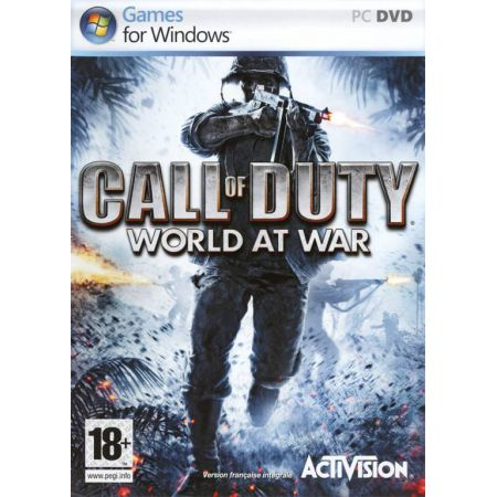 Jeu Pc - Call Of Duty World At War