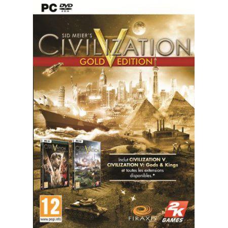 Jeu Pc - Civilization V (5) Gold Edition + Gods & Kings