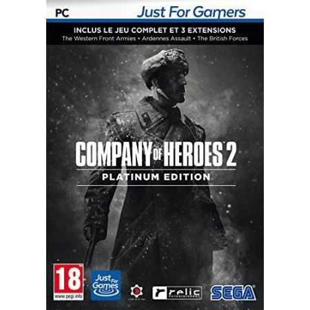 Jeu Pc - Company Of Heroes 2 - Platinum Edition