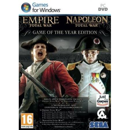 Jeu Pc - Empire Total War Et Napoleon Total War Goty