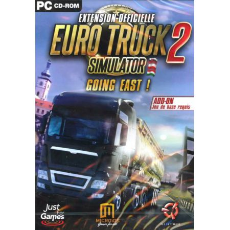 Jeu Pc - Euro Truck 2 Simulator Going East (Extension Officielle)