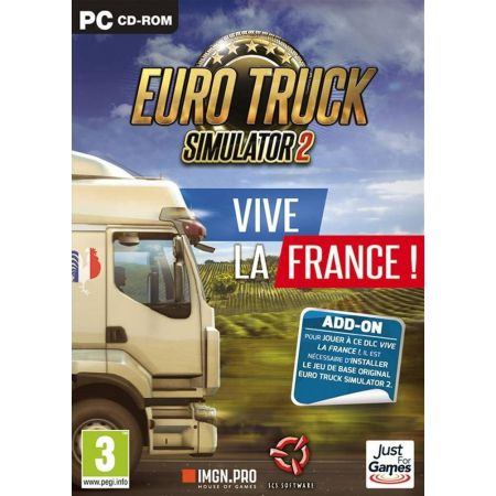 Jeu Pc - Euro Truck 2 Simulator : Vive La France