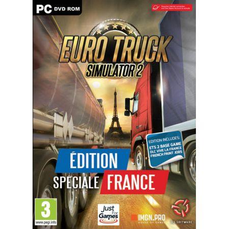 Jeu Pc - Euro Truck Simulator 2 : Vive La France - Edition Spéciale