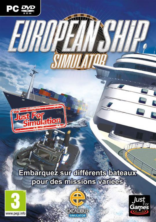 jeu pc european ship simulator jeux video pc jeux video si. Black Bedroom Furniture Sets. Home Design Ideas
