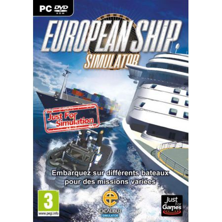Jeu Pc - European Ship Simulator
