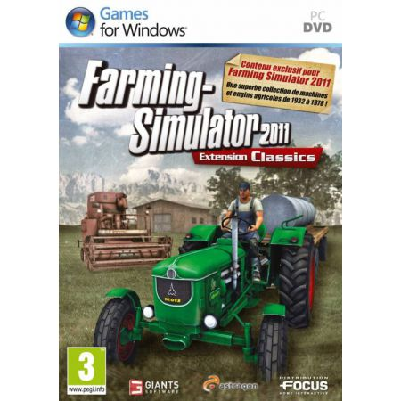 Jeu Pc - Farming Simulator 2011 Extension Classics