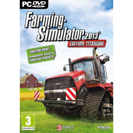 Jeu Pc - Farming Simulator 2013 : Edition Titanium