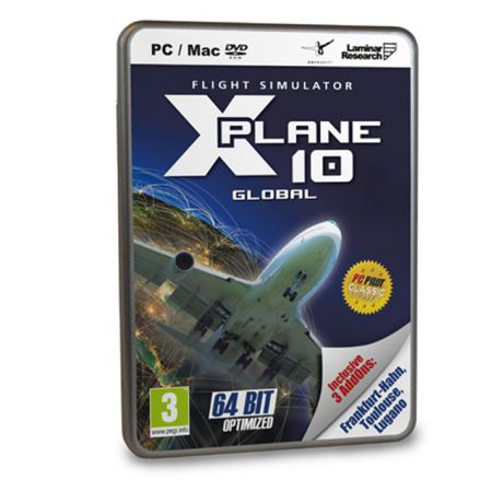 Jeu Pc - Flight Simulator - X-Plane 10 Global