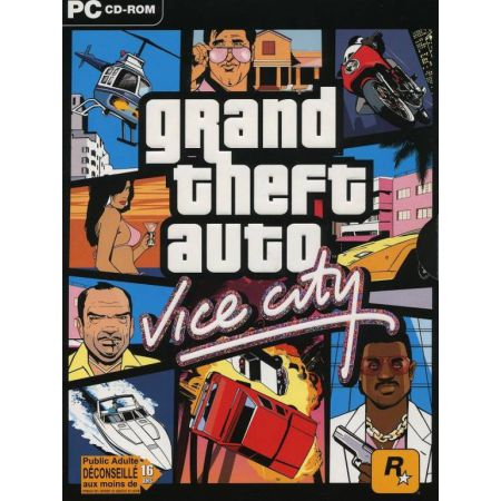 Jeu Pc - Grand Theft Auto Vice City (GTA)
