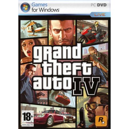 Jeu Pc - GTA 4 : Grand Theft Auto IV
