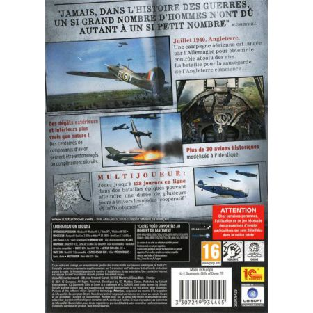 Jeu Pc - IL-2 Sturmovik Cliffs Of Dover